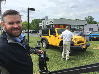 Jeep Store Video Services | Shamrock Communications