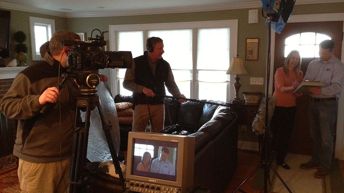 NJR Home Services Video Shot | Shamrock Communications